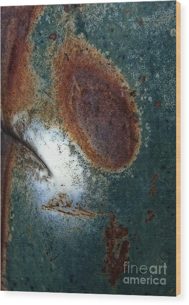 Extremophile Abstract Wood Print