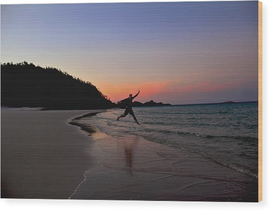 Wood Print featuring the photograph Exuberance by Debbie Cundy