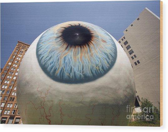 Eye Gigantus Wood Print