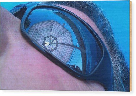 Eye On Summer Wood Print