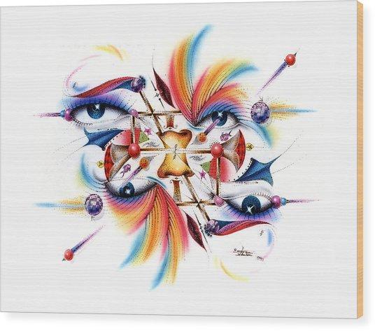 Eyecolor Wood Print