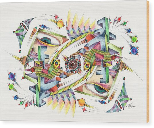 Eyevis Wood Print