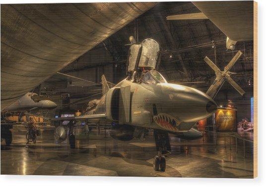 F-4 Phantom Wood Print