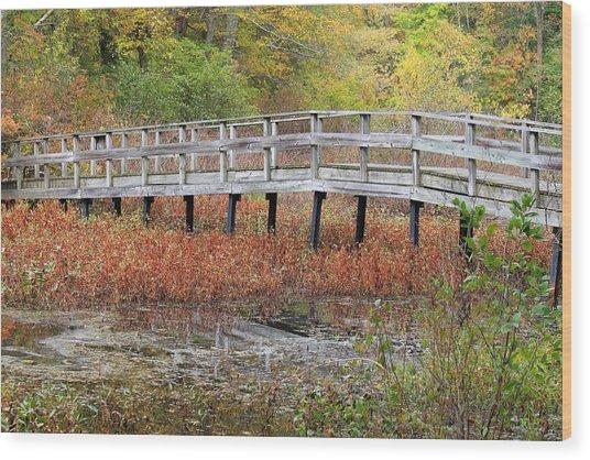 Fable Bridge Wood Print