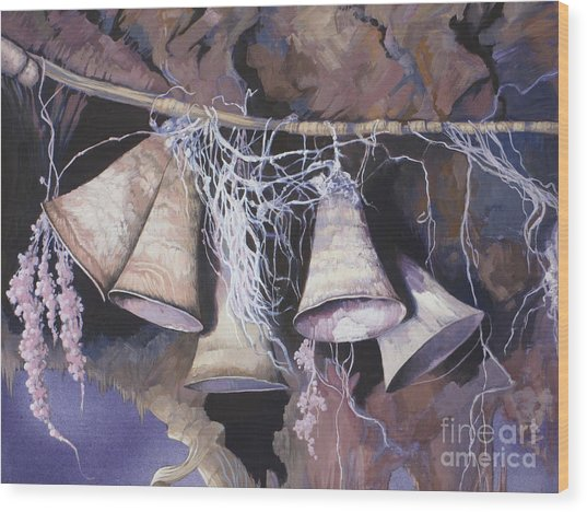 Fairy Bells Wood Print