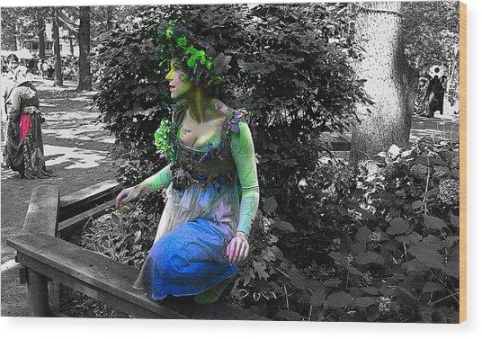 Fairy Wood Print