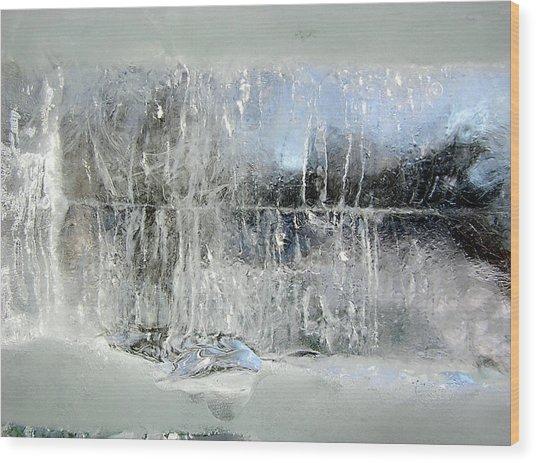 Fairy Winter Wood Print by Andr?? Pelletier