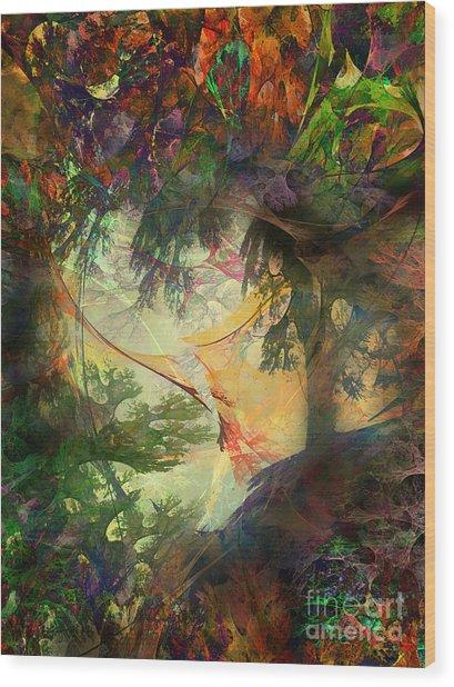 Fairytale Landscape Wood Print