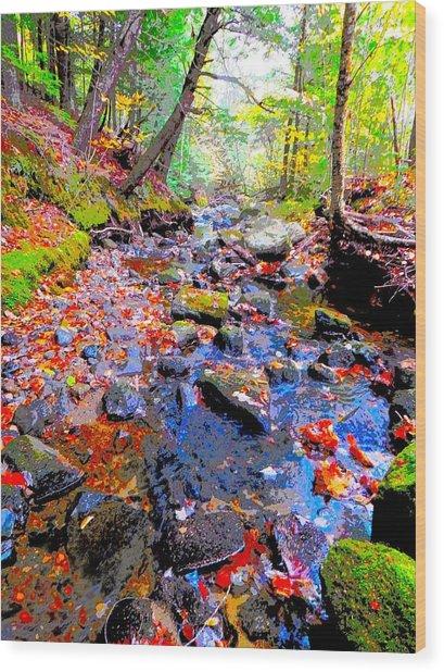 Fall 2014 Y129 Wood Print