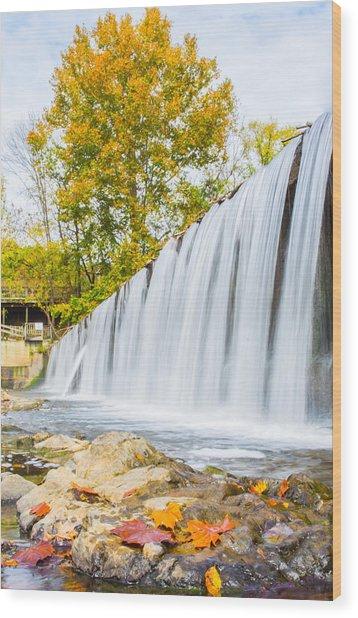 Fall At Buck Creek Wood Print