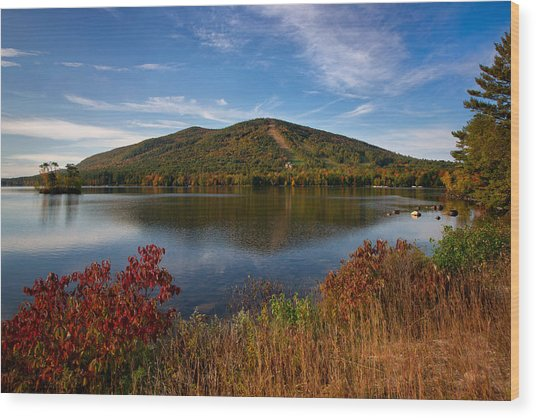 Fall At Shawnee Peak Wood Print