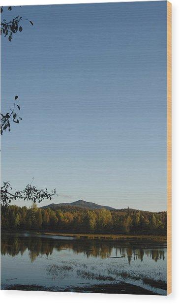 Fall In The Adirondacks Wood Print