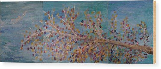 Fall Wood Print by Jessie Nolan