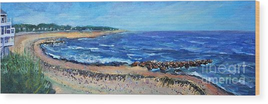 Falmouth Heights Beach Painting By Rita Brown