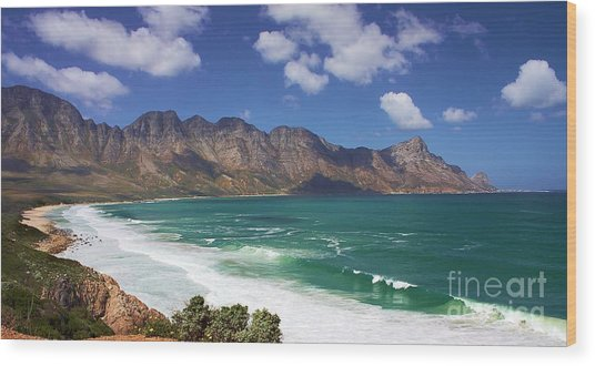Wood Print featuring the photograph False Bay Drive by Jeremy Hayden