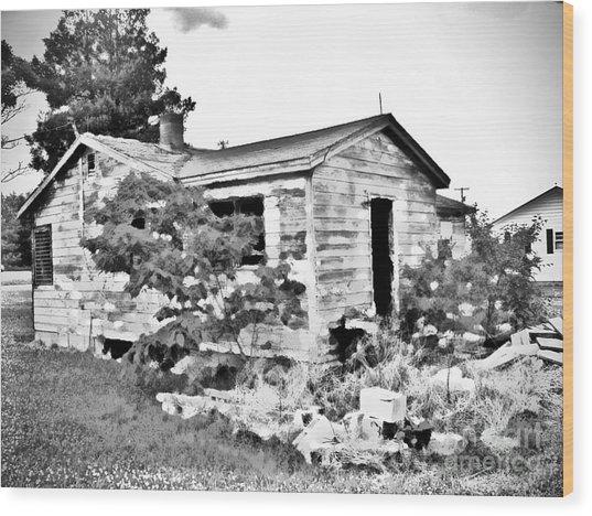 Family Casa Painter - No.1960 Wood Print