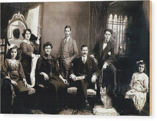 Family - Picture One Wood Print