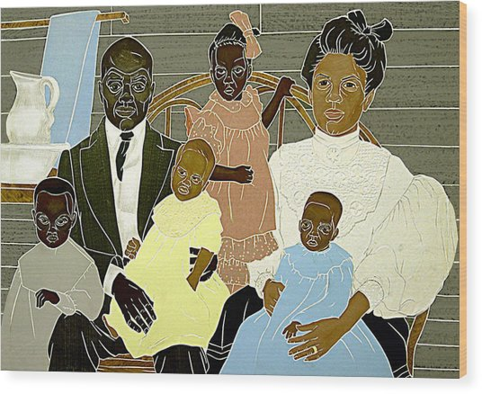 Family Portrait Wood Print