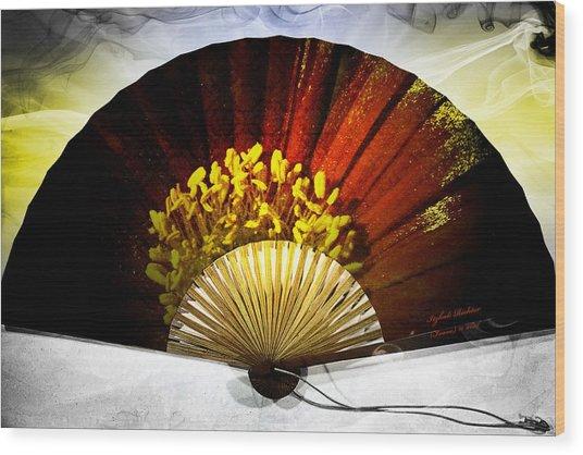 Fan Wood Print