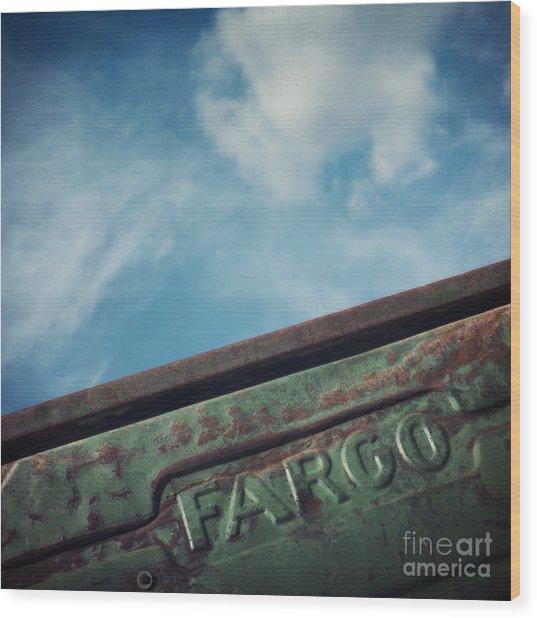 Fargo Wood Print