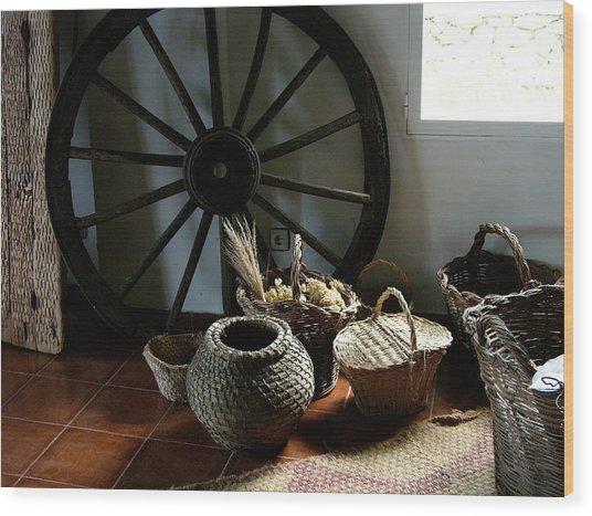 Farmers Decor Wood Print