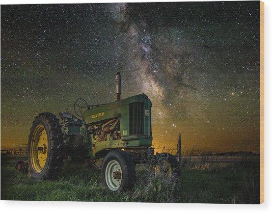 Farming The Rift 3 Wood Print