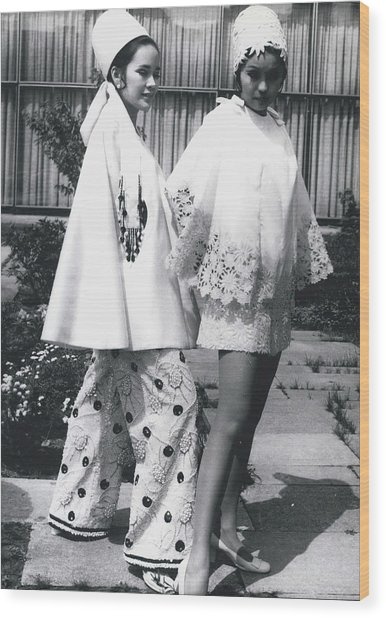 Fashion Form The Philippine Islands� Wood Print by Retro Images Archive
