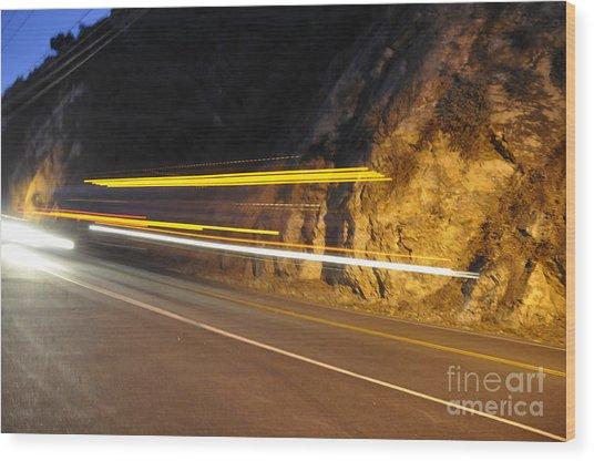 Fast Car Wood Print