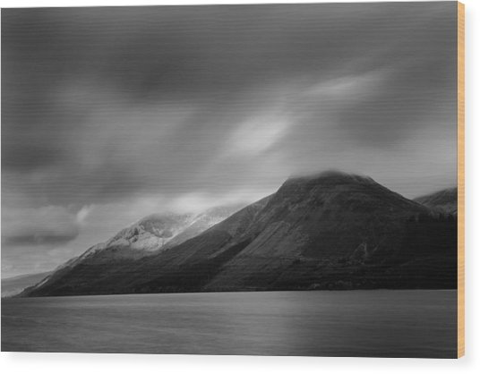 Fast Clouds Over Loch Ness Wood Print