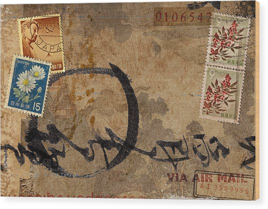 Faux Poste 0106547 Wood Print