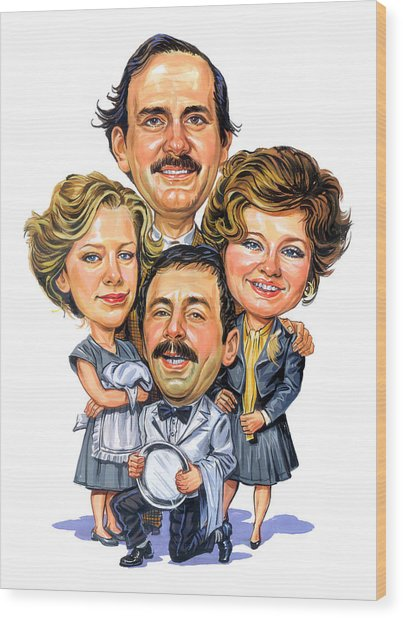 Fawlty Towers Wood Print by Art