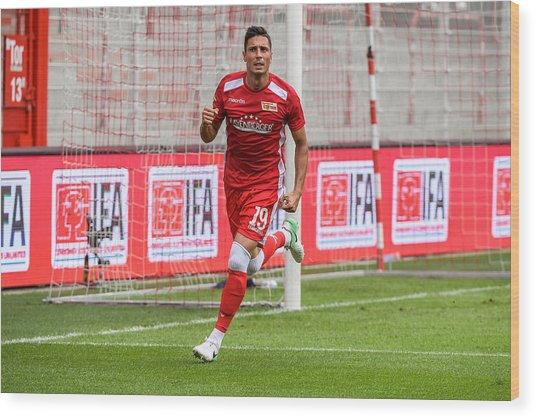 Fc Union Berlin V Queenspark Rangers - Test Match Wood Print by Florian Pohl