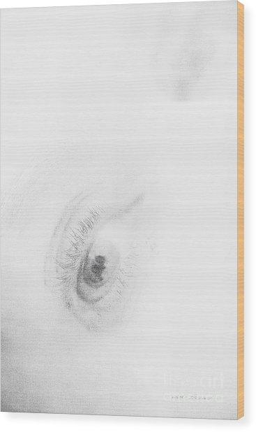 Wood Print featuring the photograph Fear by Vicki Ferrari
