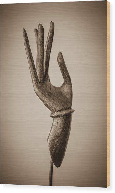 Fearlessness Wood Print