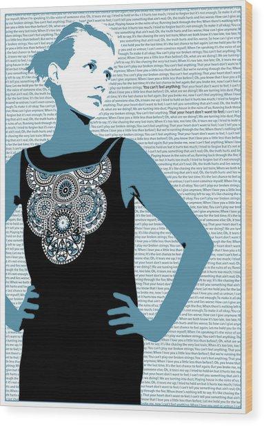 Feel Wood Print by Andras Varadi