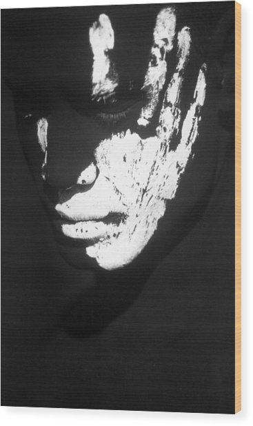 Feel Wood Print by Filippo Ioco