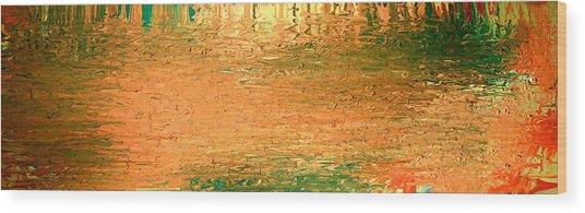 Feel Me Flow Wood Print by Cyryn Fyrcyd