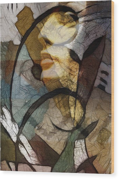 Feelings Wood Print by Ann Croon