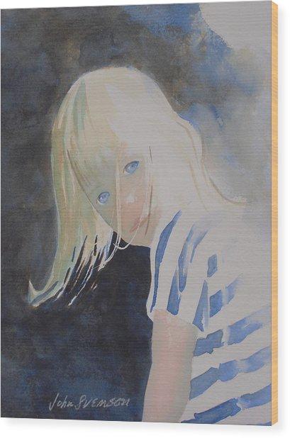 Felicia Wood Print