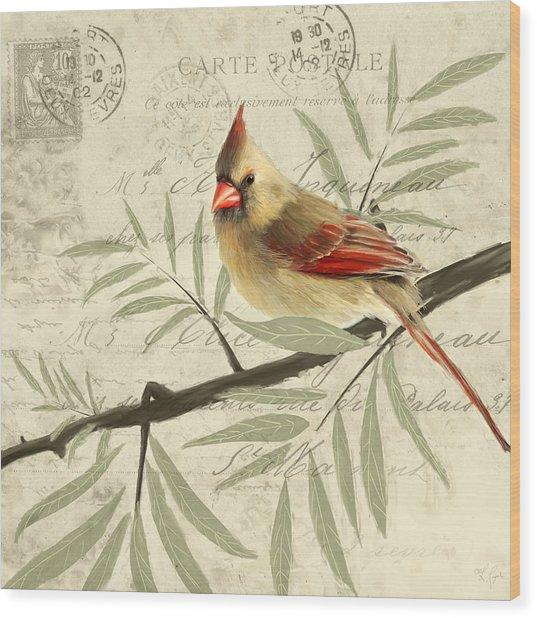 Female Symphony Wood Print