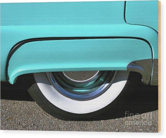 Fender What - 1955 Ford Wood Print