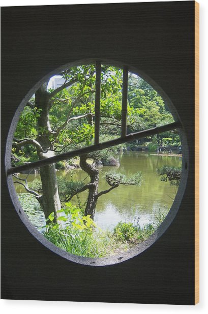 Feng Shui Wood Print