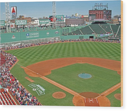 Fenway One Hundred Years Wood Print