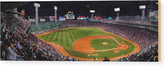 Fenway Park Boston 0476 Wood Print
