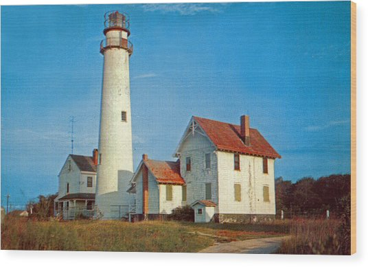 Fenwick Island Lighthouse 1950 Wood Print