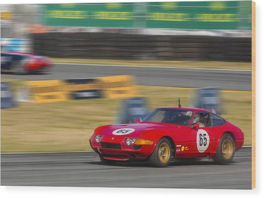 Ferrari 365 Gtb Daytona Wood Print