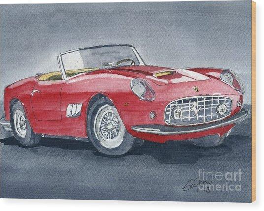 Ferrari 62   250 Gt Wood Print