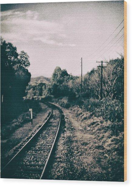 Ferrocarril Wood Print