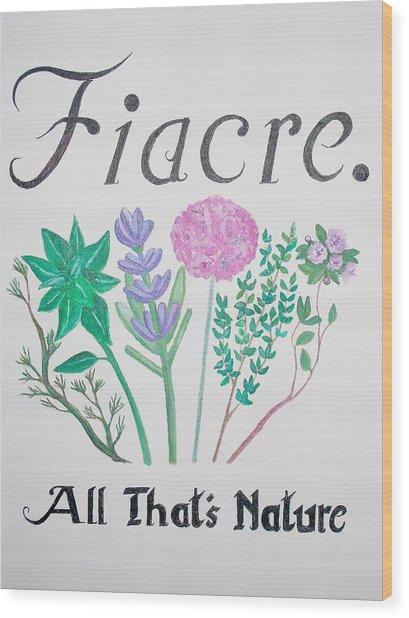 Fiacre Wood Print