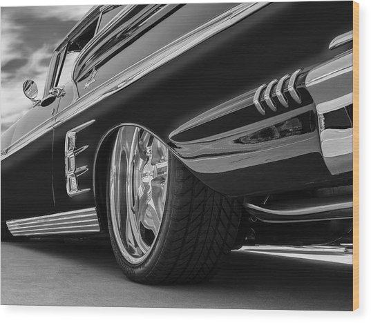 Fifty Eight Impala Wood Print